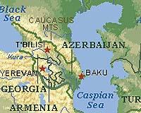 The volatile Caucasus region.
