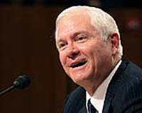US Defense Secretary nominee Robert Gates testifies during confirmation hearings by the Senate Armed Services Committee 05 December, 2006 on Capitol Hill in Washington, DC. The US Senate on 06 December overwhelmingly confirmed Gates to be the new defense secretary, replacing Donald Rumsfeld, who fell into disfavor over the failing US policy in Iraq. Photo courtesy AFP