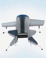 File photo of a GoldenEye UAV