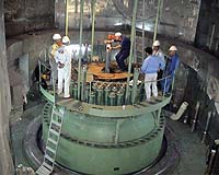 File photo: Inside the core of Irans nuclear facility, Beshehr.