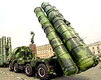 Russia's S-400 air-defense system.