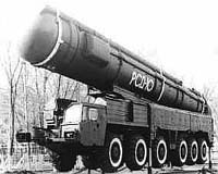 RIA Novosti correspondent Andrei Kislyakov argued that taking the decision to reopen production lines to build a new generation of intermediate range ballistic missiles to replace the old SS-20s (pictured) that were scrapped under the INF Treaty would be an ambitious, time-consuming and costly undertaking for Russia.