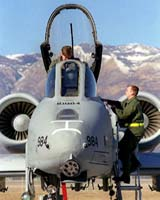 A pair of A-10 (pictured) pilots were involved in a friendly fire incident in Iraq in 2003.